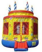 20-Round Cake Bounce House 13x13